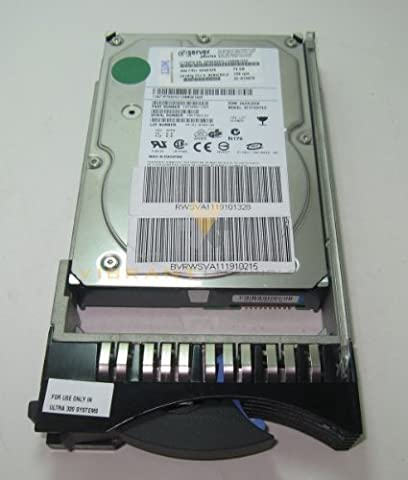 00P3072 IBM 73.4GB 10K RPM U320 SCSI 80pin 3.5in Hard Disk Drive. - Rpm U320 Scsi Hard Drive