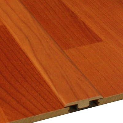 Cal-Flor TM20156 T-Molding Wood Molding, 72-Inch, Medium Cherry, 2-Pack