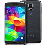 Samsung G900A Galaxy S5 Unlocked Android Smartphone, 4G LTE, 16GB GSM - (Black)
