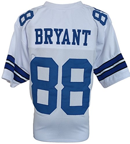 Dez Bryant Unsigned Custom White Pro-Style Football Jersey X-Large by Sports Integrity