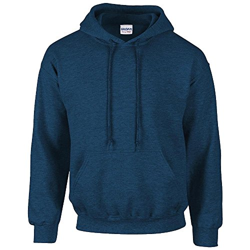 Gildan Heavy Blend Erwachsenen Kapuzen-Sweatshirt 18500 Blue Antique Sapphire, XL