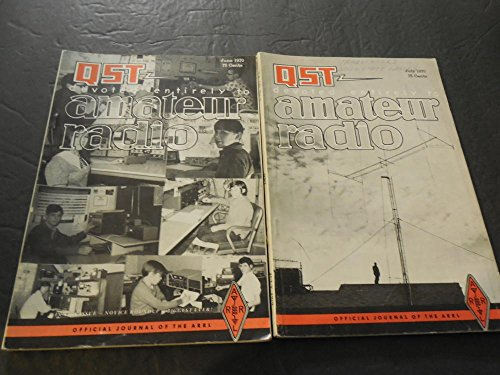 2 QST Amateur Radio Feb-Mar 1970, Graphic Solutions,80 Ft Antenna