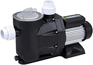 Niome 2.5hp Swimming Pool Pump Motor Above Ground Swimming Pool Filter W/Strainer Baske, 148 GPM/1850W