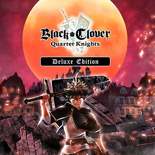 Black Clover: Quartet Knights Deluxe Edition - PS4 [Digital Code]
