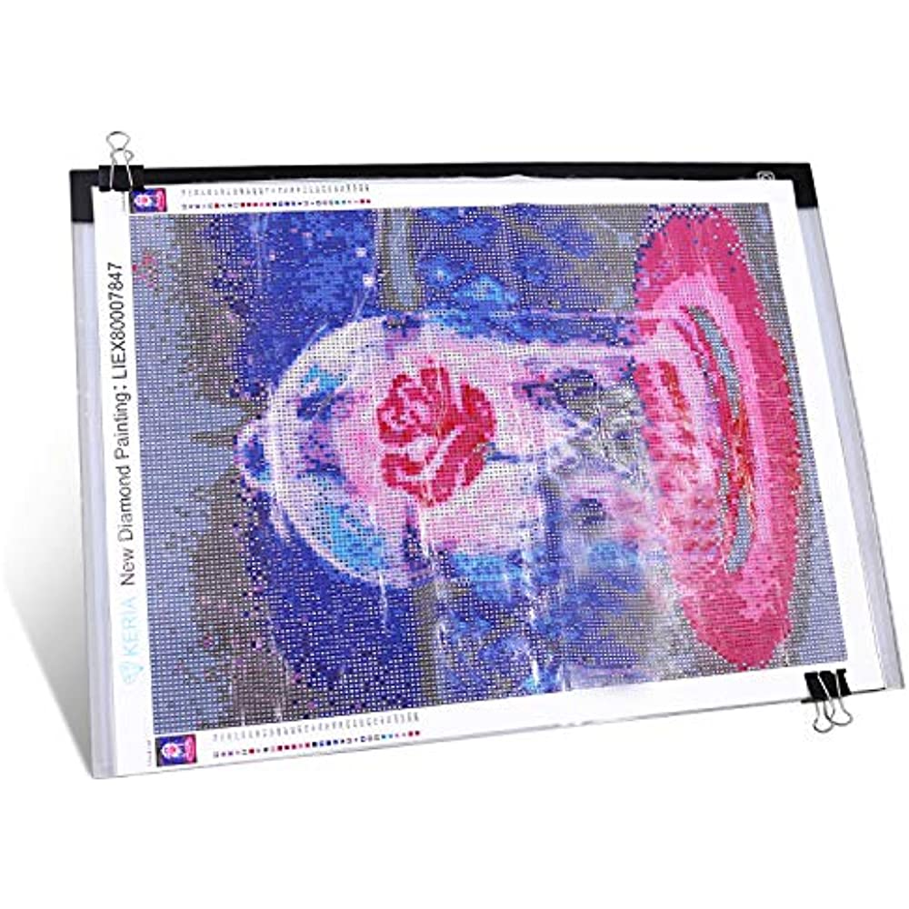 LED A5 Graphic Drawing Tablet Light Pad Copyboard 3-level Brightness D8L4