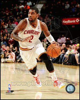 Kyrie Irving 2013-14 Action Art Poster Print Unknown