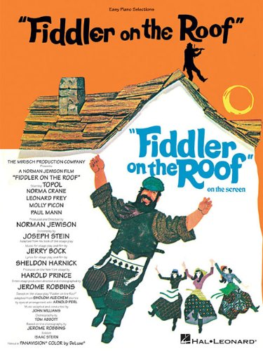 Fiddler On The Roof Easy Piano -