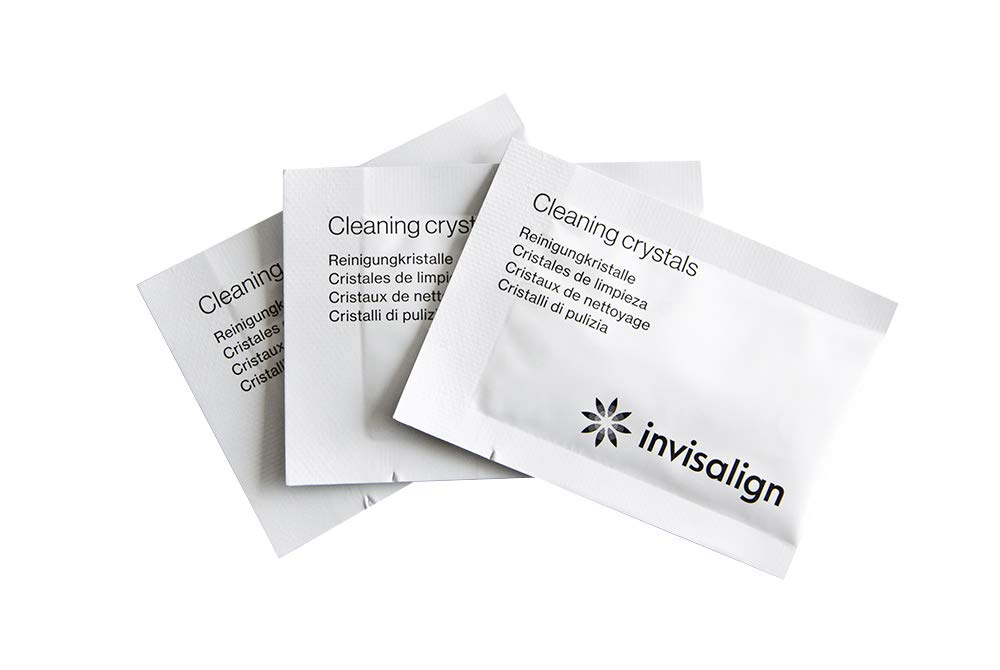 Invisalign Cleaning Crystals for Aligners and Retainers (50 week supply)