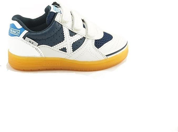 Zapatilla Fútbol Sala Munich G3 Blanco 29: Amazon.es: Zapatos y ...