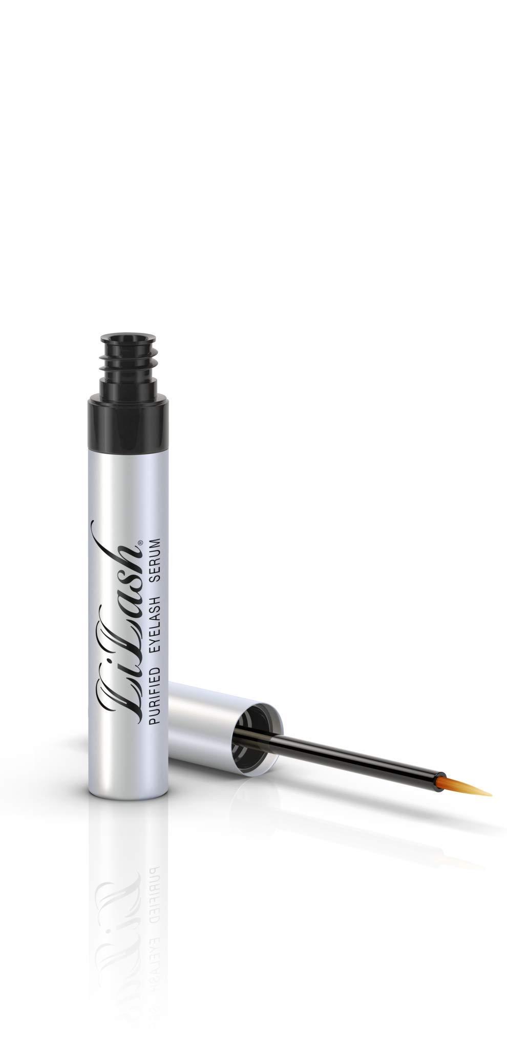 LiLash Purified Eyelash Serum | Natural Eyelash Enhancer | Use For 90 Days For Full Results by LiLash