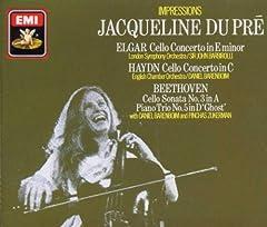 Jacqueline du Pre - Impressions: Elgar: Cello Concerto, Haydn: Cello Concerto, Disc EX, Case VG+, Format: Music CD, EMI Records. Classical music CD release from Jacqueline du Pre with the album Impressions: Elgar: Cello Concerto, Haydn: Cello...
