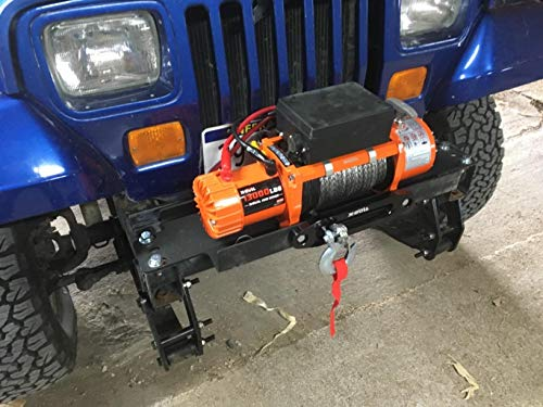 X-BULL 12V Waterproof Synthetic Rope Winch-13000 lb. Load Capacity IP67 by X-BULL (Image #5)