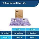 PetSafe ScoopFree Premium Crystal Non Clumping Cat Litter, 2-Pack 12