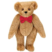 Vermont Teddy Bear - Valentines Bear, Soft Teddy Bear, Stuffed Valentine Animals, 15 inches - Made in The USA