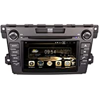 GPS Navigation Android 7.1 Car Stereo CD DVD Player In Dash Radio with 7 LCD Bluetooth Multimedia System for MAZDA CX-7 2007-