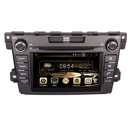 Cx 7 Mazda (GPS Navigation Android 8.0 Car Stereo CD DVD Player In Dash Radio with 7