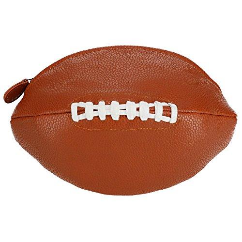Enroute Men's Football Travel Toiletry Bag, Brown