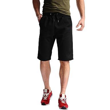 406300f348 Brezeh Men Sport Shorts, Mens Casual Shorts Pants Sportswear Gym Workout  Fitness Sport Shorts Summer Beach Shorts Plus Size: Amazon.co.uk: Clothing