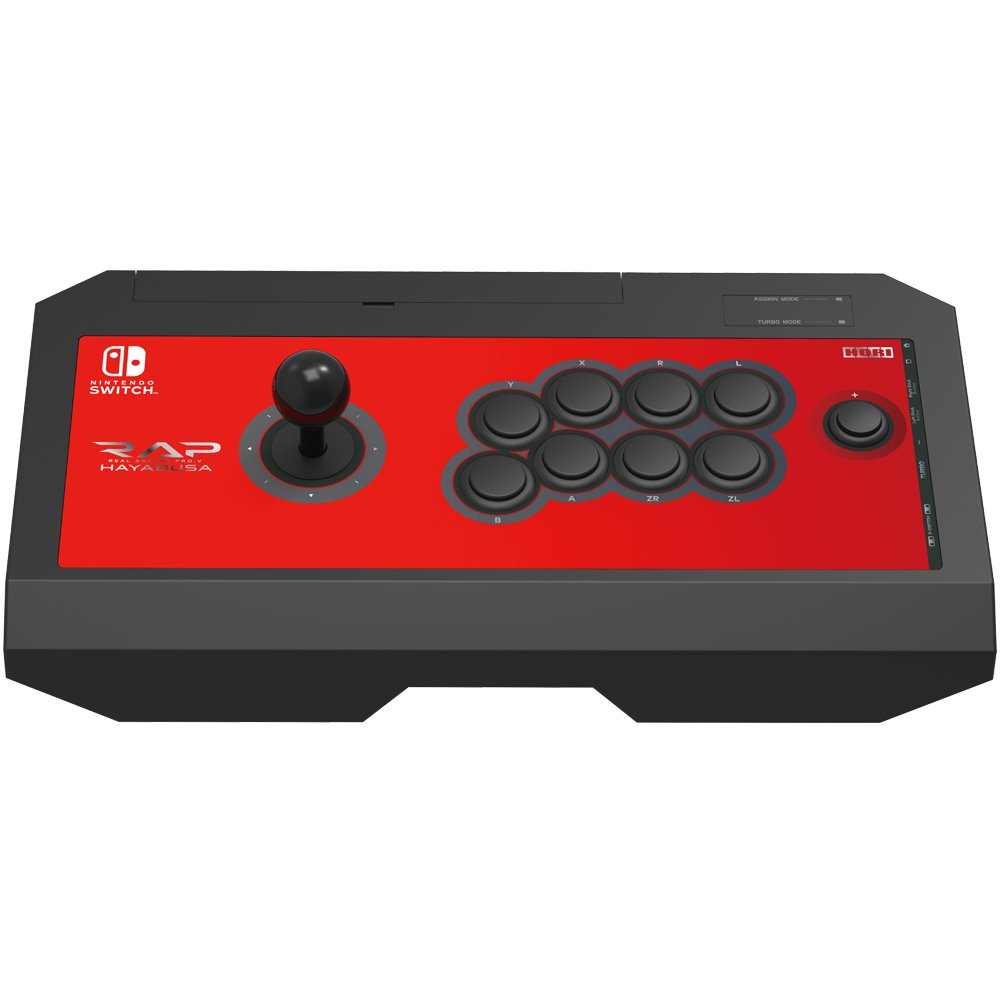 HORI Nintendo Switch Real Arcade Pro V Hayabusa Fight Stick Officially Licensed by Nintendo - Nintendo Switch;