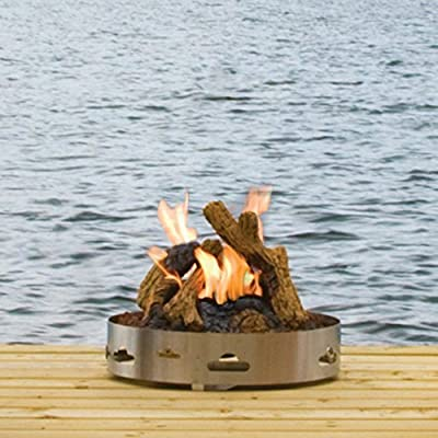 Napoleon Patioflame Outdoor Fire Pit - GPF with Glo Cast Logs
