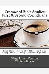 Crossword Bible Studies - First & Second Corinthians: King James Version Paperback