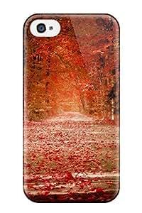 AmandaMichaelFazio Premium Protective Hard Case For Iphone 4/4s- Nice Design - Pretty Fall Photo Kimberly Kurzendoerfer