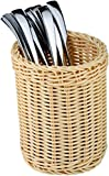 Paderno World Cuisine Polyrattan Flatware/Breadstick Basket
