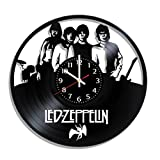 Vinyl record wall clock Led Zeppelin, Led Zeppelin wall poster, original Led Zeppelin decal For Sale