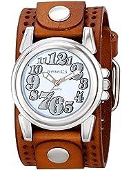 Nemesis Womens 069BPLBS Trendy Oversized Series Analog Display Japanese Quartz Brown Watch