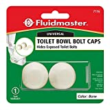 Fluidmaster 7116 Replacement Toilet Bolt Caps In