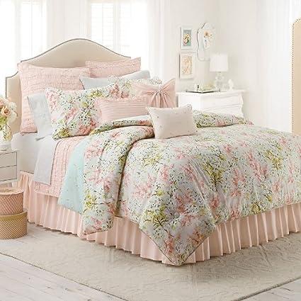 Amazon.com: LC Lauren Conrad Tea Berry 2-pc. Reversible Comforter ...