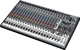 Behringer Eurodesk Sx2442fx Ultra-Low Noise Design 24-Input 4-Bus Studio/Live Mixer With Xenyx Mic Preamplifiers, British Eqs  And Dual Multi-Fx Processor
