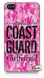 Premium Direct Print Premium Pink Camo Coast Guard Girlfriend Military Camouflage Direct UV Printed iphone 6 Quality Hard Snap On Case for iphone 6/Apple iphone 6 - AT&T Sprint Verizon - White Case PLUS Bonus RCGRafix The Best Iphone Business Productivity Apps Review Guide
