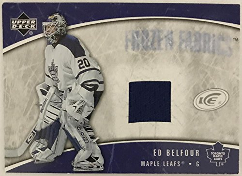 2005-06 Upper Deck Ice Frozen Fabrics #FFEB Ed Belfour NM-MT Hockey NHL MEM 02985 from Unknown