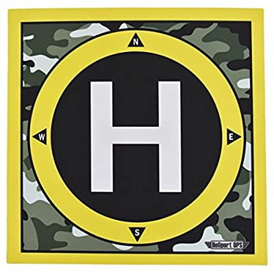 LANDING PAD for ( Remote Control Helicopter, Quadcopter, FPV Drones ) HELIPAD ONLY