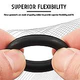 CO-Z 150pc Rubber Grommet Kit for Home Improvement