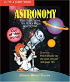 A Little Giant® Book: Astronomy (Little Giant Books)