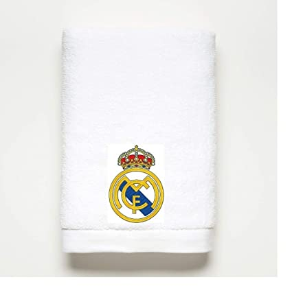 REAL MADRID toalla de baño~bordado~100% algodón