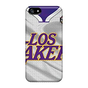 New Premium Saraumes Los Angeles Lakers Skin Excellent Fitted Case For Iphone 5/5S Cover