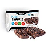 RSP Protein Brownie (12 pk) - 16g of Protein & Gluten Free, Delicious On-The-Go Healthy Snack - Soft Baked Brownie & High Protein Snack, Classic Fudge