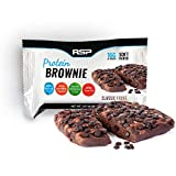 RSP Protein Brownie (12 pk) – 16g of Protein & Gluten Free, Delicious On-The-Go Healthy Snack – Soft Baked Brownie & High Protein Snack, Classic Fudge Review