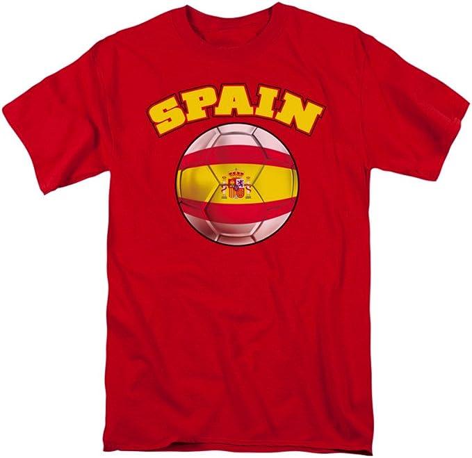 Trevco Camiseta de fútbol de España para Adulto, Todos los tamaños ...