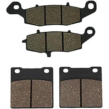 Cyleto Front and Rear Brake Pads for SUZUKI GSX 600 F GSX600F GSX600 F Katana 600 1998 1999 2000 2001 2002 2003 2004 2005 2006