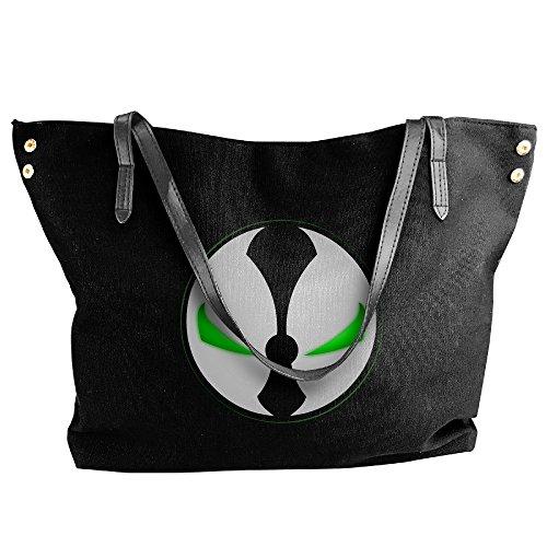 Spawn Symbol Logo Handbag Shoulder Bag For Women