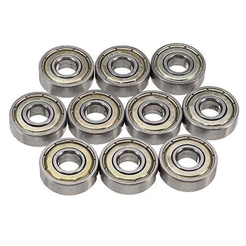 - 10pcs ABEC-7 608ZZ 8x22x7mm Ball Bearings Deep Groove Ball Bearing