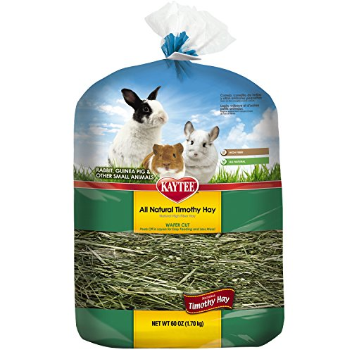 Kaytee Wafer Cut Hay, 60-oz