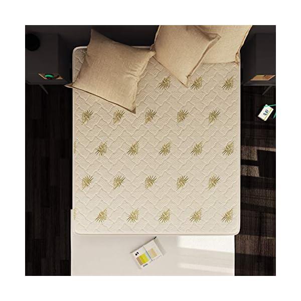 Baldiflex Materasso Memory Easy Super Top Matrimoniale con Rivestimento in Aloe Vera, Misura 160x190x23 cm 4 spesavip