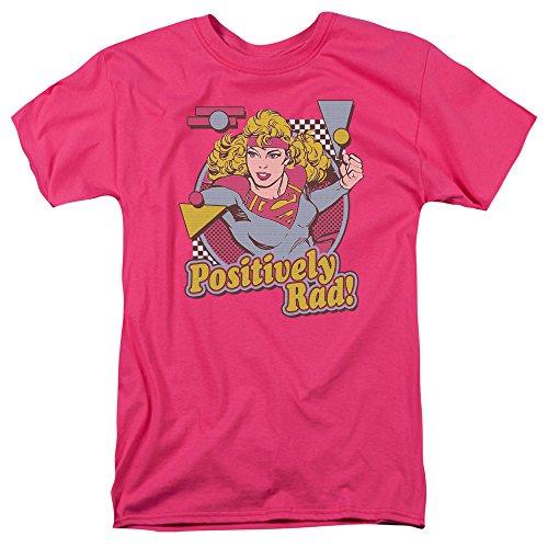 Trevco Men's Dc Supergirl Positively Rad Adult T-Shirt, H...