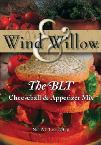 Cheeseball Willow - Wind and Willow the BLT Cheeseball Mix - 1 Ounce (4 Pack)