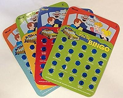 Toysmith 9173 Road Trip Bingo Assorted Colors
